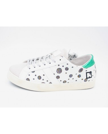 Baskets blanches DATE Hill Low Pop Planet White