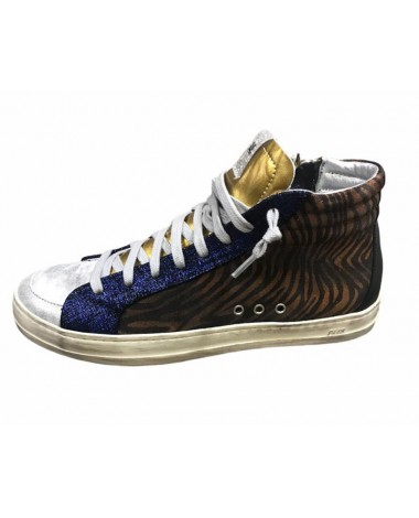 Baskets montantes P448 Skate Disco sneakers 4 couleurs nouvelle collection