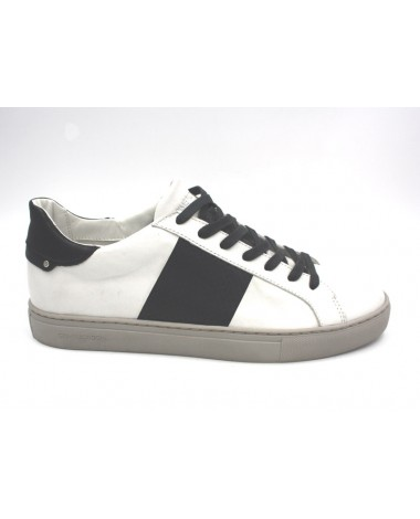 Basket homme CRIME LONDON blanches modele 11220K