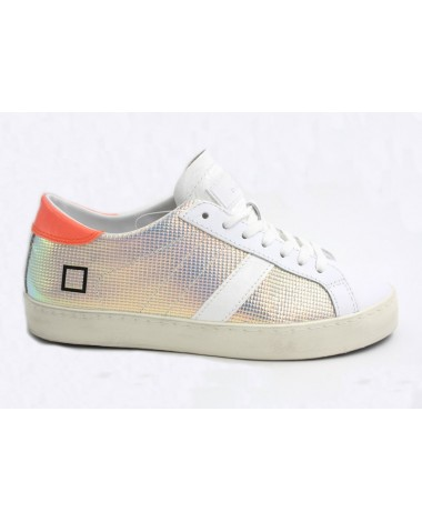 Baskets sneakers DATE modèle Hill Low Fantasy laser