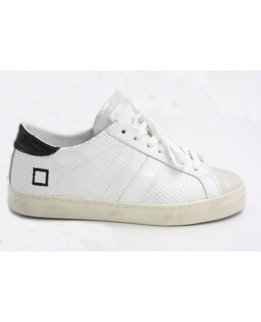 Baskets sneakers DATE modèle Hill Low roof white